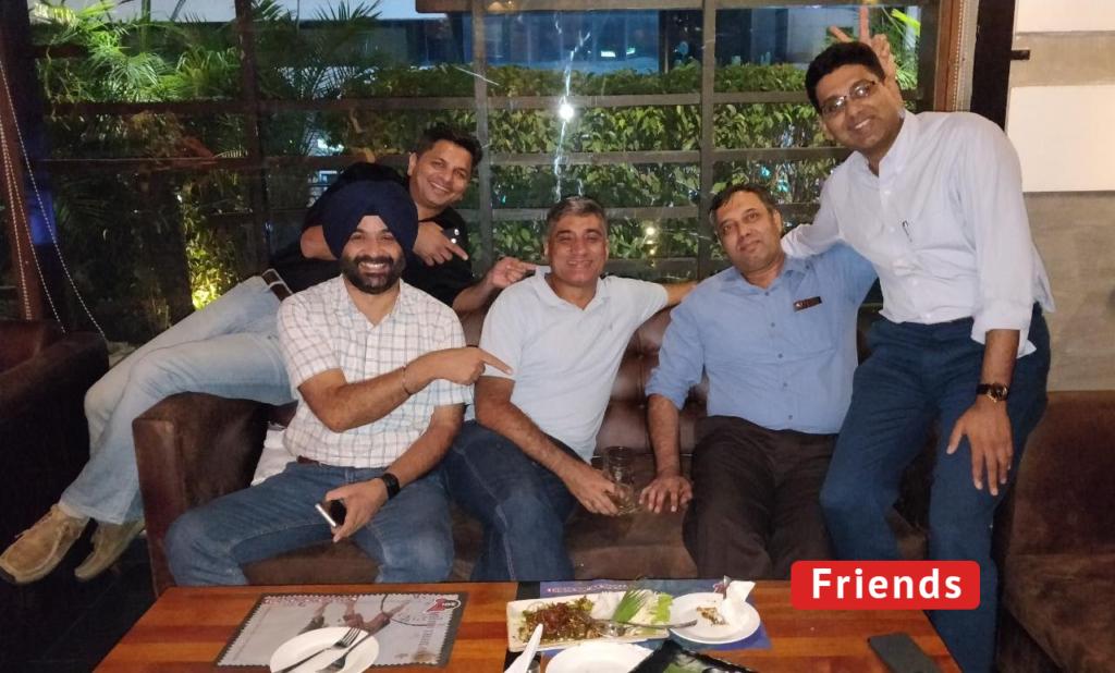 friends Amit Mathur