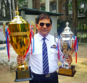 J P with Trophy BFC