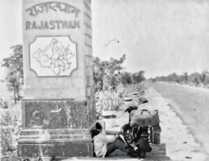Rajasthan border vintage photo