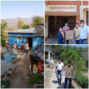 distributing medicines