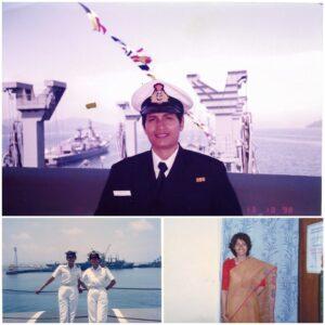 Lt Sandhya Navy