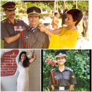 Anuradha an Army Officer