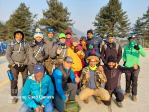 The Everest Base Camp 2021 group
