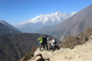 Picture perfect view on Everest base camp trek